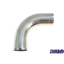 Aluminium cső 90 fok 70mm 30cm